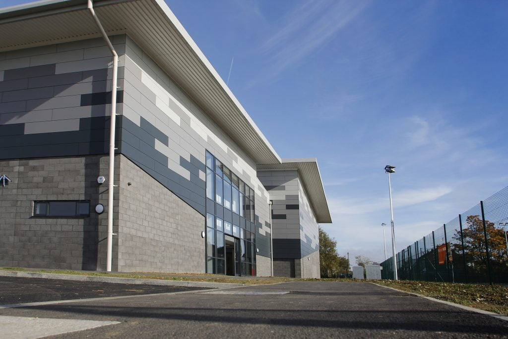 Herts & Essex Sports Hall-exterior