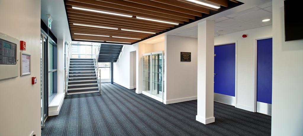 Highworth Sports Hall-interior