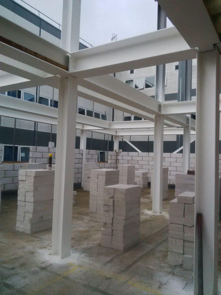 Basildon Hospital Winter Ward Construction