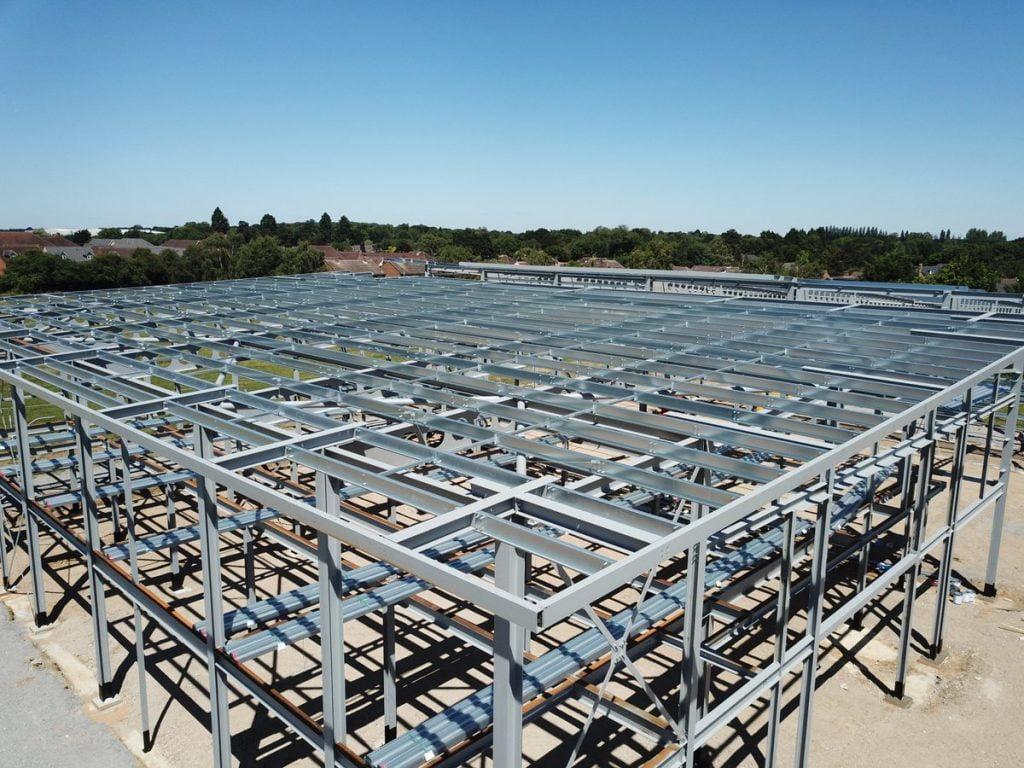 Herts & Essex Sports Hall-construction