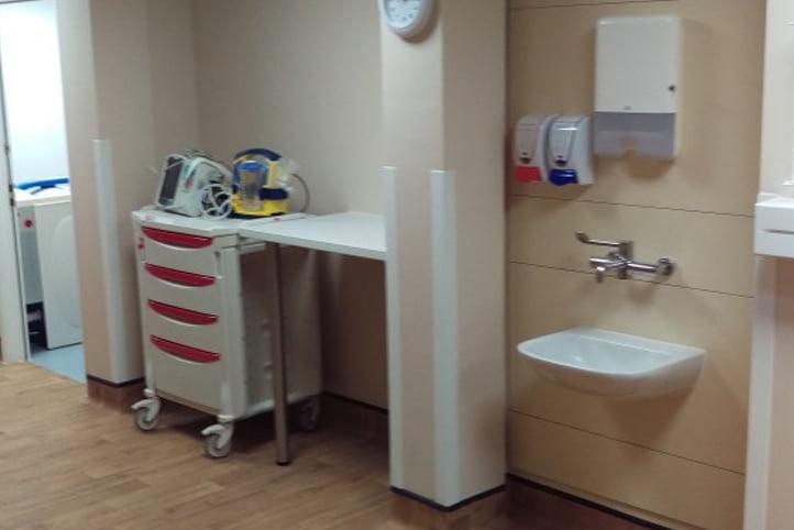 Basildon Hospital Winter Ward Interior